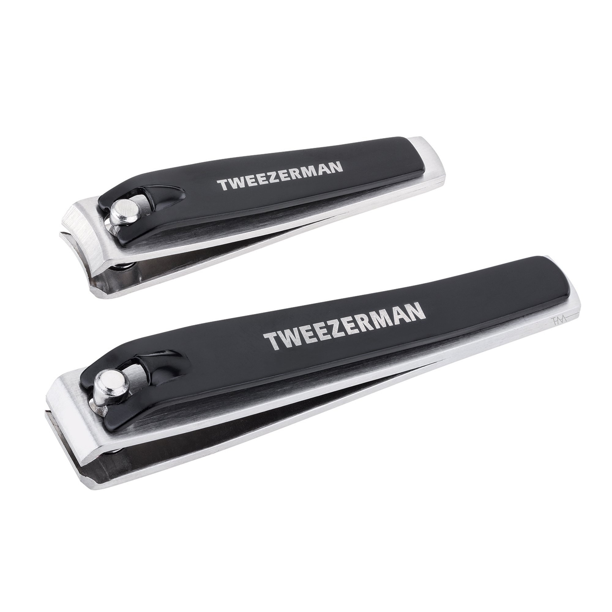 Tweezerman Combo Clipper Set with Fingernail Clippers and Toenail Clippers