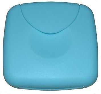 Tampon Bote/Tampon Caja de almacenamiento para tampones, preservativos o tiritas – Compresa y protegeslips (Azul Claro): Amazon.es: Salud y cuidado personal
