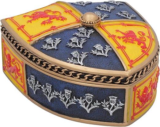 Nemesis Now Brave - Caja (12,5 cm, Resina, Talla única), Color Dorado: Amazon.es: Hogar