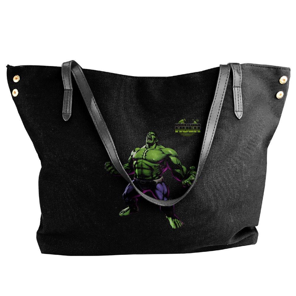The Incredible Hulk Tote Bag For Women Canvas Shoulder Handbags