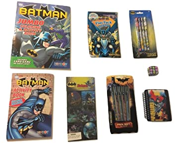 Amazon Com Dc Comics Batman Activity Gift Set Batman Vs Joker