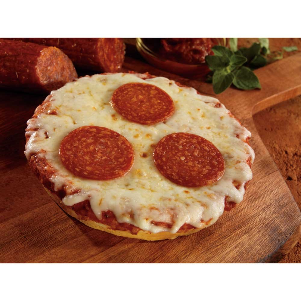 Conagra The Max Pepperoni Pizza - 5 inch Round, 5.49 Ounce each -- 60 per case. by ConAgra
