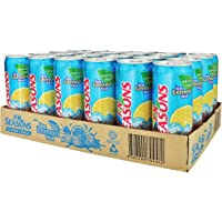 Seasons Ice Lemon Reduced Sugar Tea, 300ml (Pack of 24)