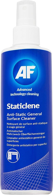 AF Staticclene Pulverizador para limpieza de equipos 250ml - Kit de limpieza para ordenador (Pulverizador para limpieza de equipos, 250ml)