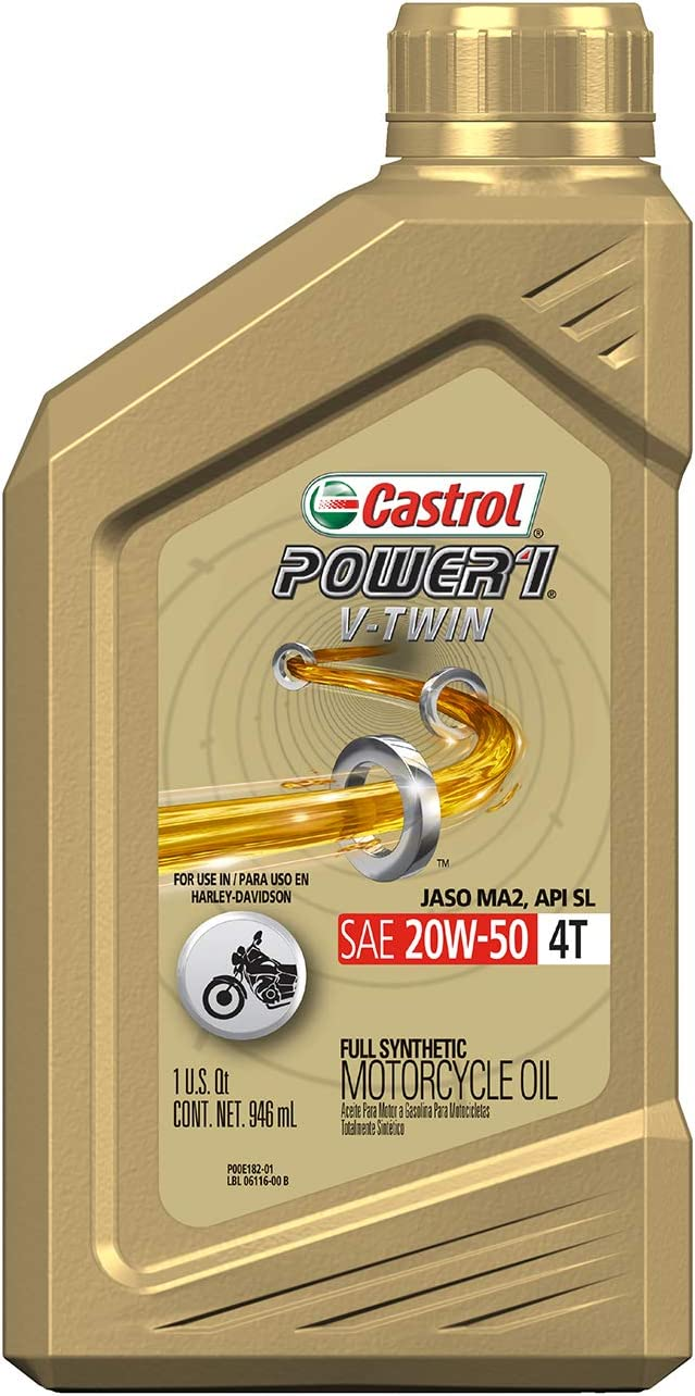 Castrol 06116 POWER1 V-TWIN 4T 20W-50