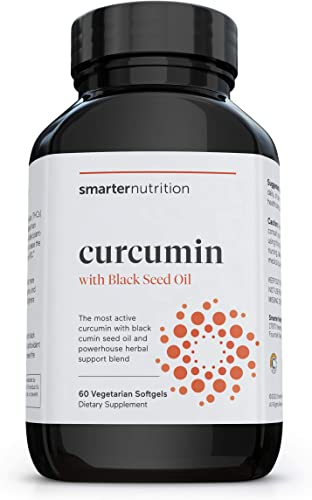 Smarter Turmeric Curcumin - Potency and Absorption in a SoftGel - The Most Active Form of Curcuminoid Found in the Turmeric Root - 95 Tetra-Hydro Curcuminoids 30 Servings Packaging May Vary