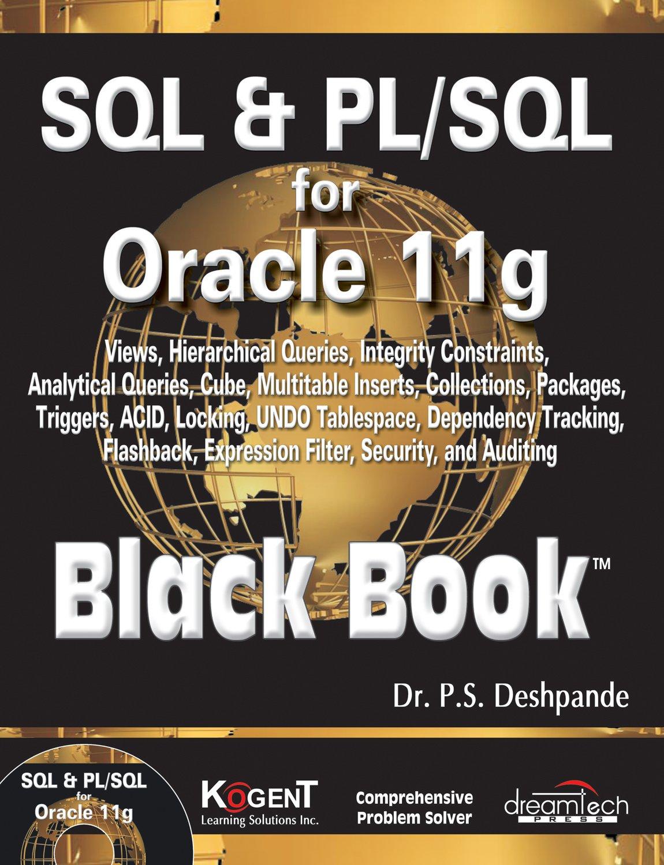 Sql pl sql oracle 10g black book free download