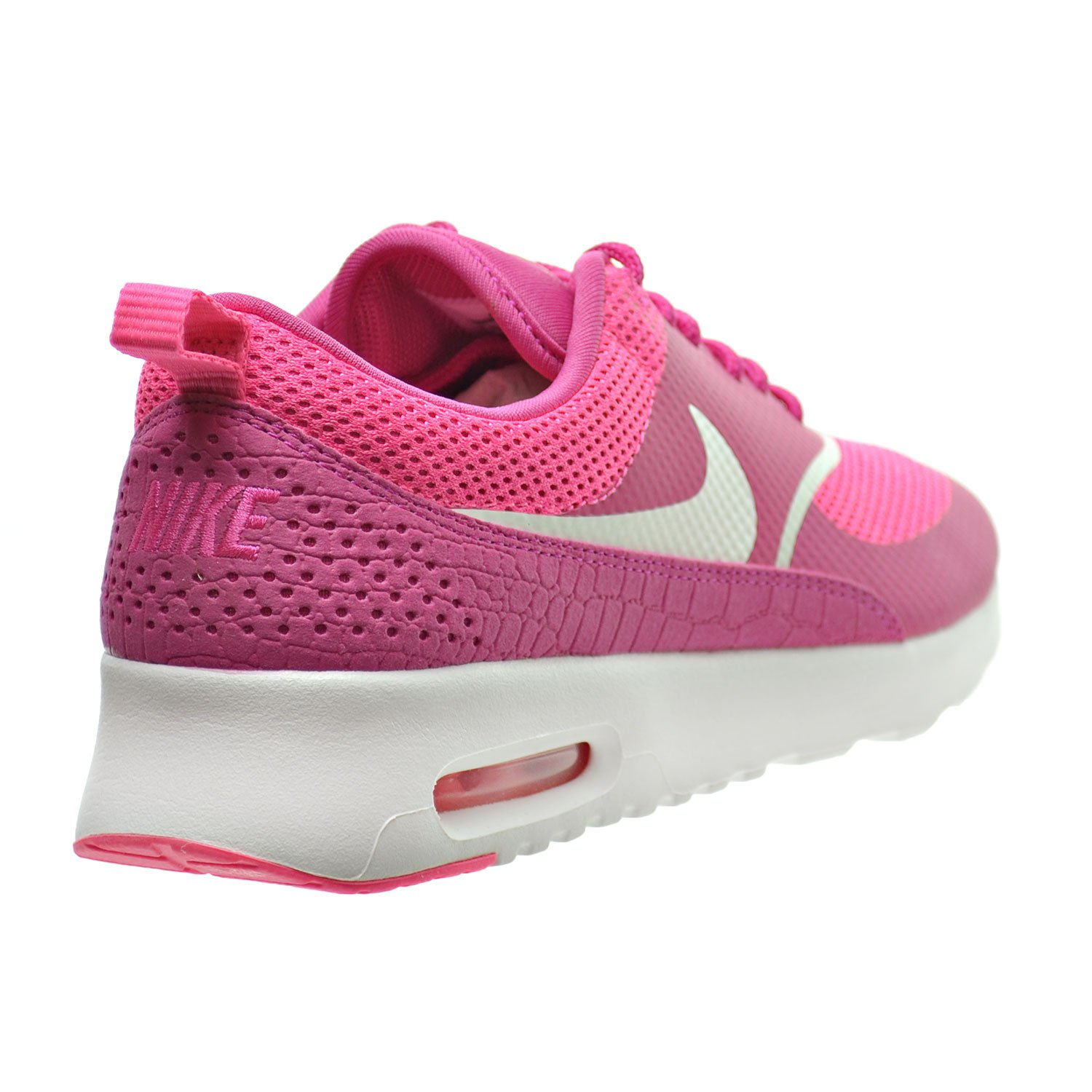 d3ec6ef115 Amazon.com | Nike Air Max Thea Women's Shoes Vivid Pink/Summit White  599409-609 | Fashion Sneakers