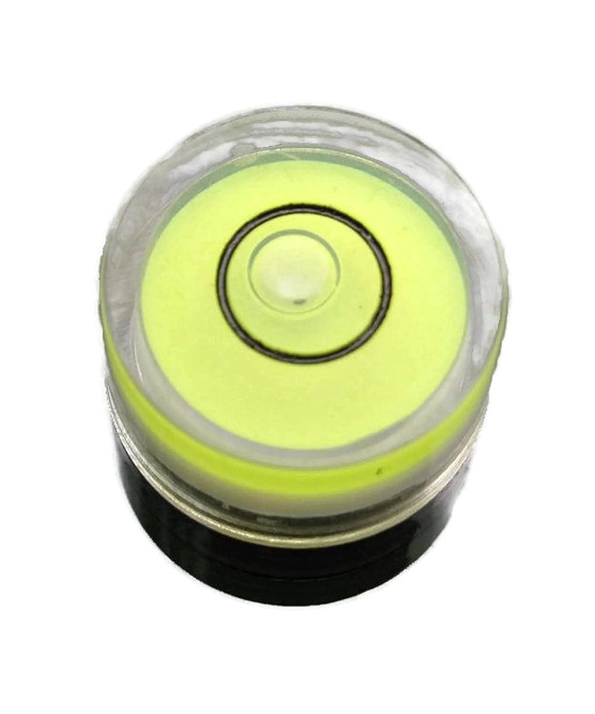 Cuatro o seis unidades de nivel de burbuja circular de 18 mm x 9 ...