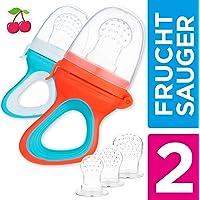 2 Chupetes Frutas para Bebés y Niños Pequeños