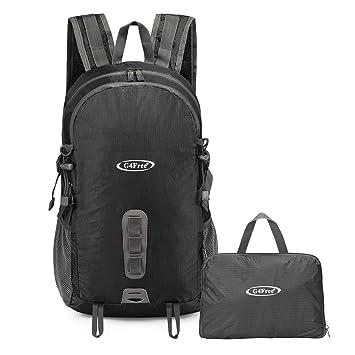 G4Free Lightweight Foldable Backpack Large Packable Rucksack Shoulder Bag  Daypack with Hydration Compatible System for Travelling c76057ba24868