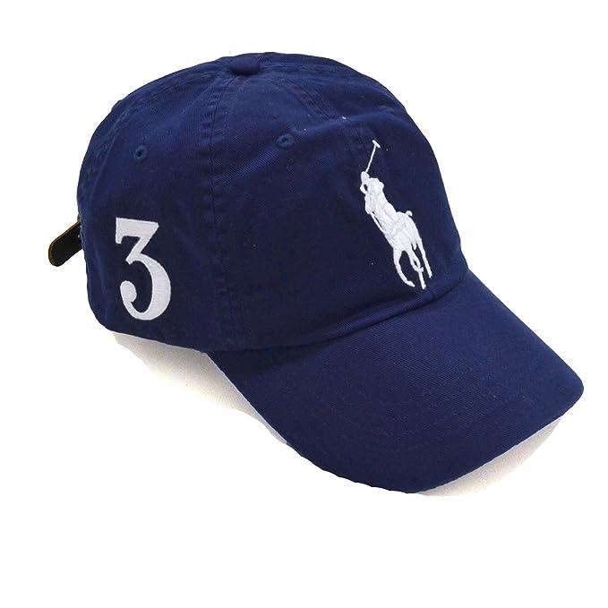 Polo Ralph Lauren Men Big Pony Logo Hat Cap (One size 136a1f920b7d