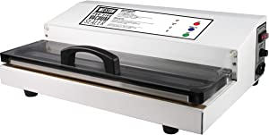 "Weston 65-0101 Commercial Grade Vacuum Sealer 15"" Wide Pro-2100 (White)"