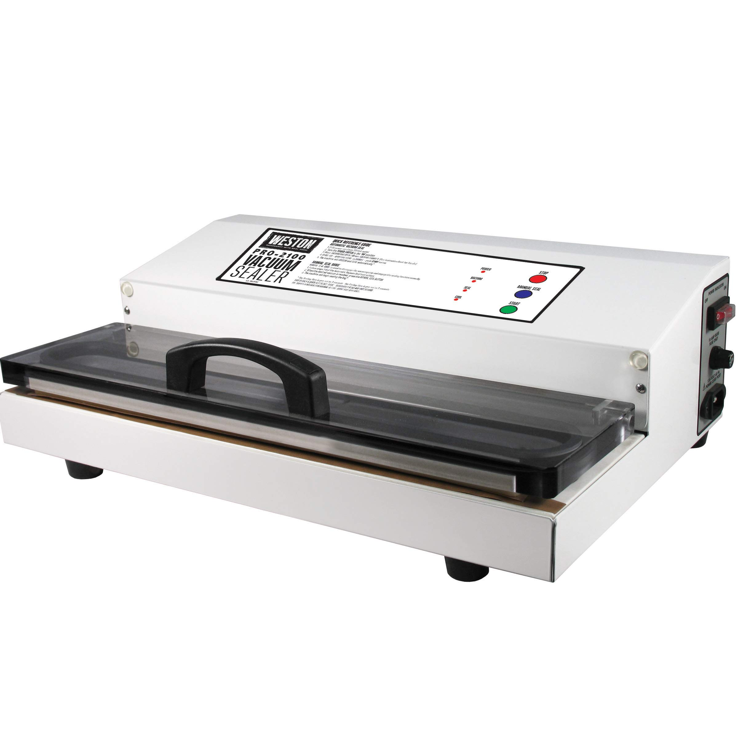 Weston 65-0101 Commercial Grade Vacuum Sealer 15'' Wide Pro-2100 (White) by Weston