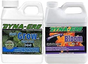 Dyna-Gro DYNAGB8OZSET Liquid Grow & Liquid Bloom, 8 oz
