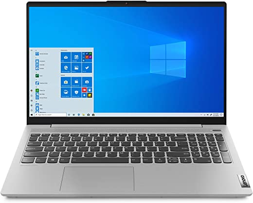 "Lenovo IdeaPad 5 Notebook, Display 15.6"" FullHD, Processore Intel Core i5-1035G1, 256 GB SSD, RAM 8 GB, Windows 10, Platinum Grey"
