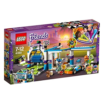 LEGO Friends Spinning Brushes Car Wash 41350 Building Set (325 Piece): Toys & Games