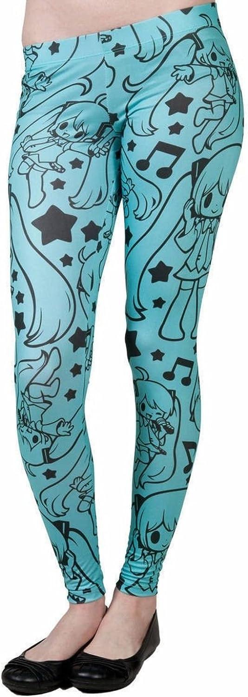 Welovefine Crypton Hatsune Miku Stretchy Women's Juniors Leggings