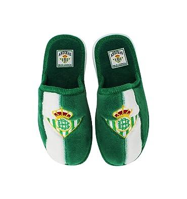 Andinas - Zapatillas de Estar por casa Oficial Real Betis: Amazon.es: Zapatos y complementos