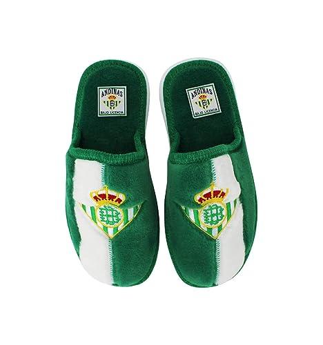 a53c57647a8 Andinas - Zapatillas de Estar por casa Oficial Real Betis: Amazon.es:  Zapatos y complementos