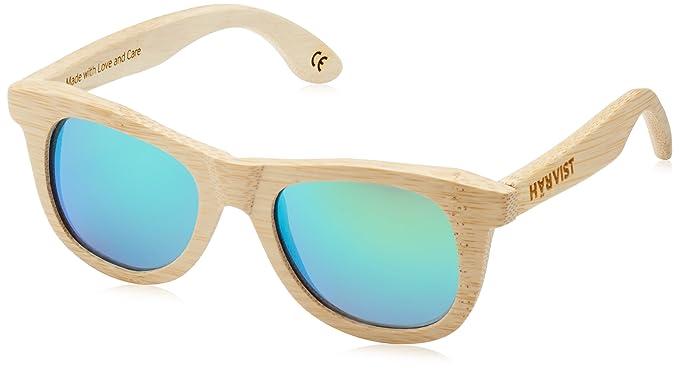 HÄRVIST, Waywood - Gafas de sol de madera, unisex, color bambú
