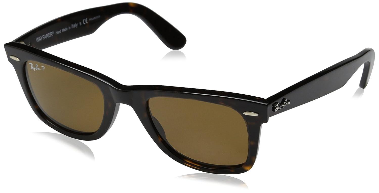 24439bca5b8 Amazon.com  Ray-Ban RB2140 Original Wayfarer Icons Polarized Sunglasses