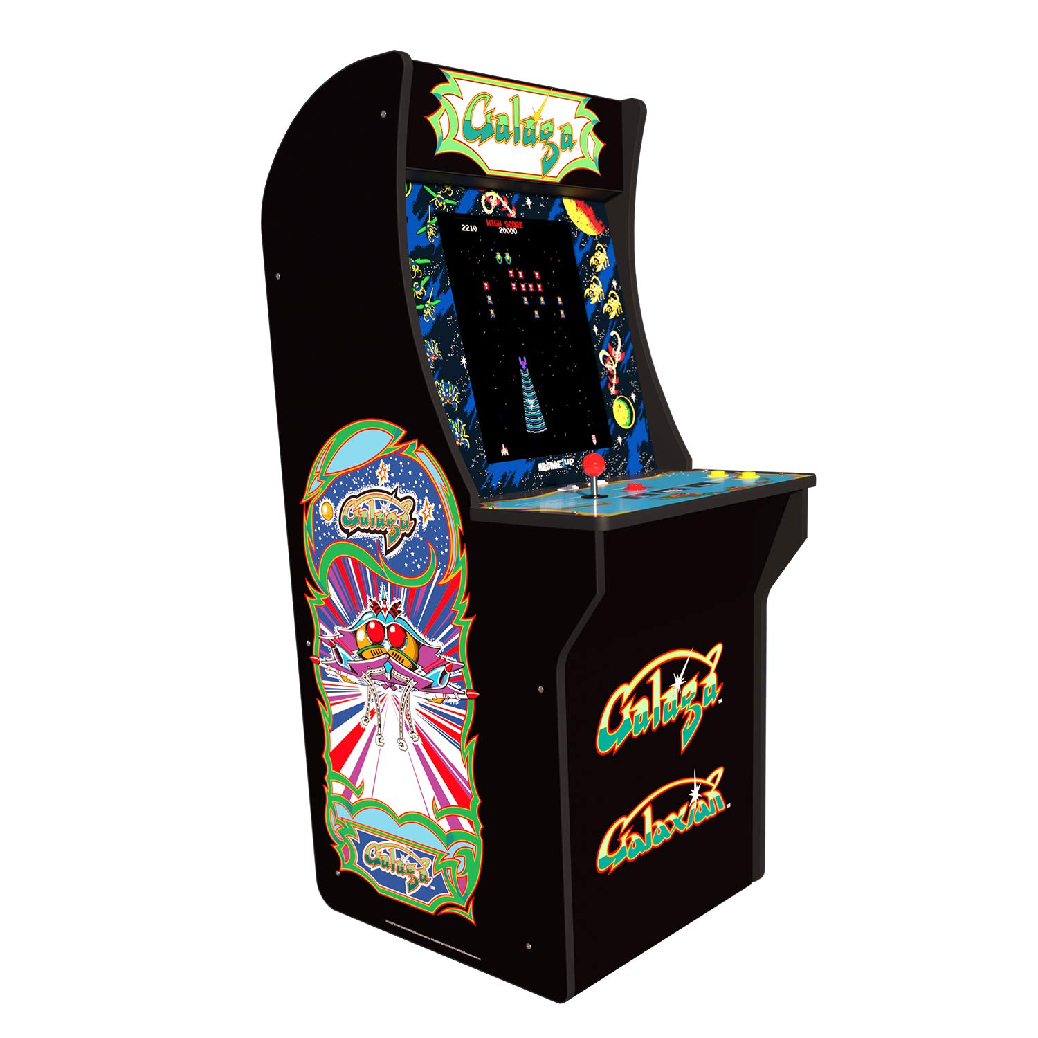 Arcade 1Up Galaga Deluxe Arcade System with Riser, 5 feet by Arcade1Up (Image #5)