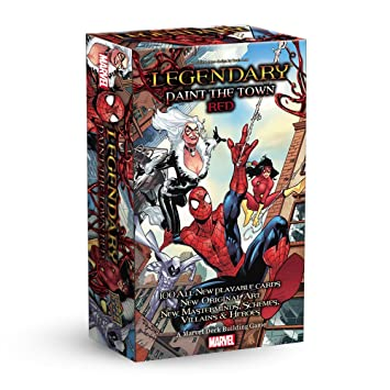Marvel Legendary Spider-Man Paint the Town Red Deckbuilding ...