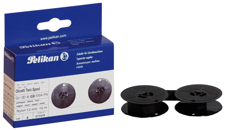 Pelikan 571976 - Cinta para Olivetti Nylon DS 13/10 schw. Grp. 8(D), color negro: Amazon.es: Oficina y papelería