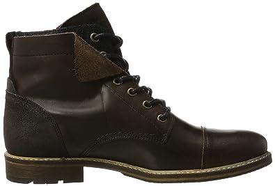 BULLBOXER Herren 5807A Biker Boots, Braun (Brown), 40 EU