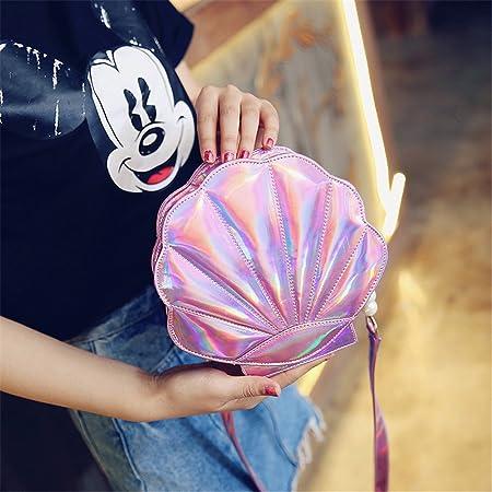 183c7624b502 FANCY LOVE Unique Crossbody Bags Cute Shell Shape Bag Messenger Lolita Mini  Handbag for Women (Pink)