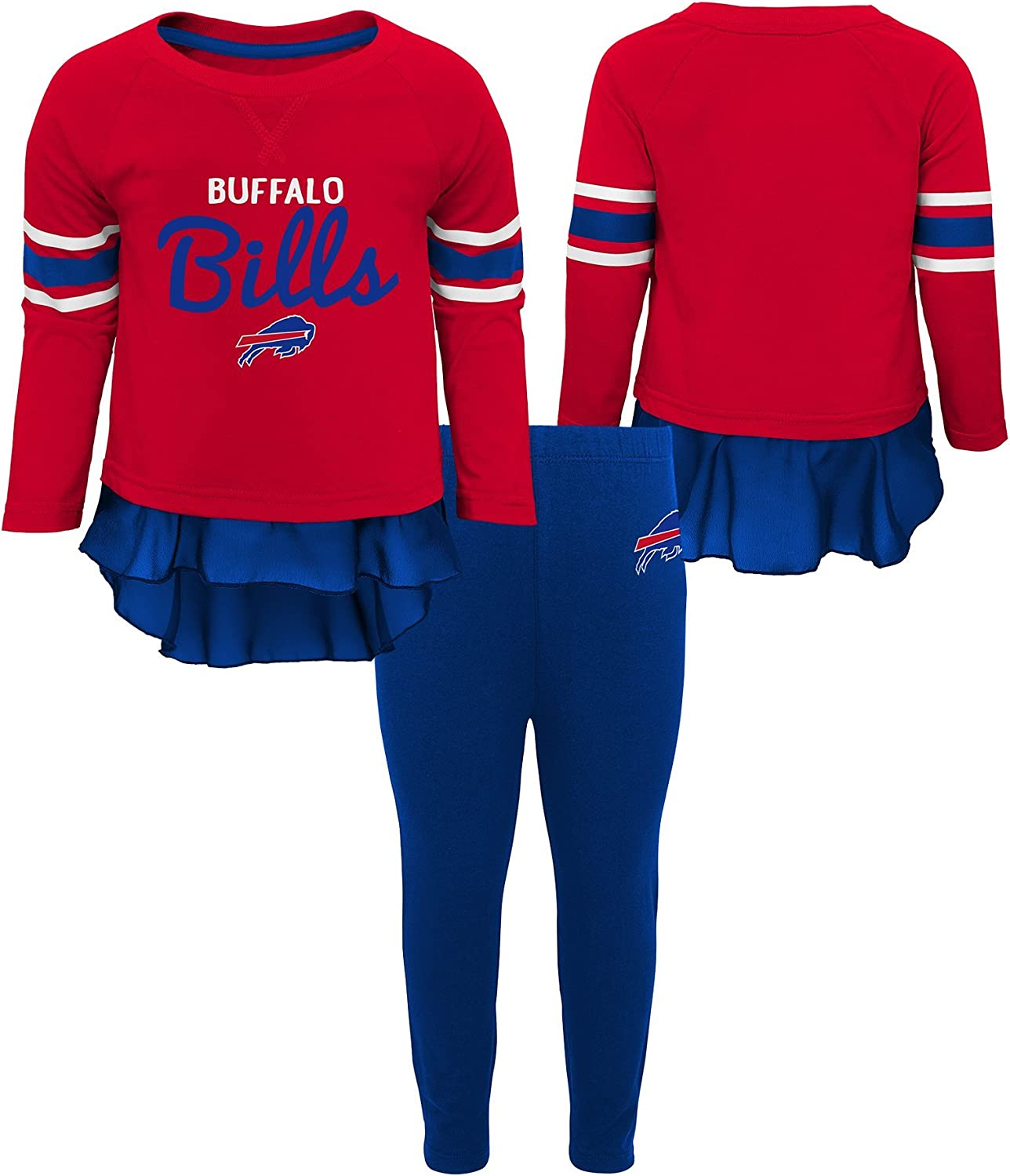 NFL by Outerstuff NFL Baby-Girls Mini Formation Long Sleeve Top /& Legging Set