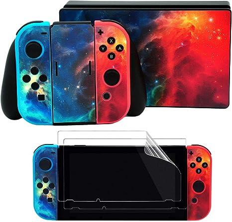 Taifond - Juego de Adhesivos para Nintendo Switch Console y Joy ...