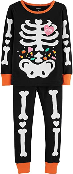 7b1db5275c0a Amazon.com  Carter s Toddler Girls  2-Piece Glow-in-The-Dark ...