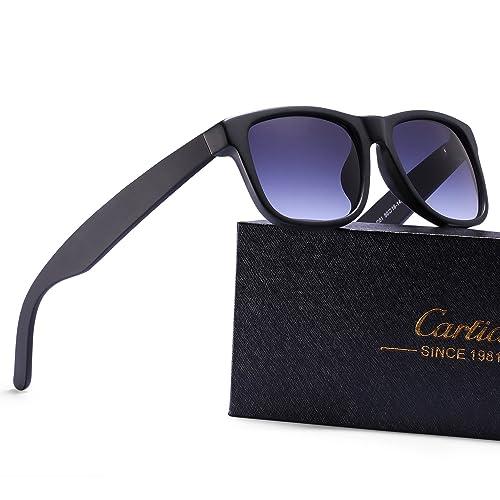 Gafas de Sol, Carfia Gafas de Sol de Moda UV400 Protección Polarizadas para Viaje y Depoete al Aire Libre Unisex A