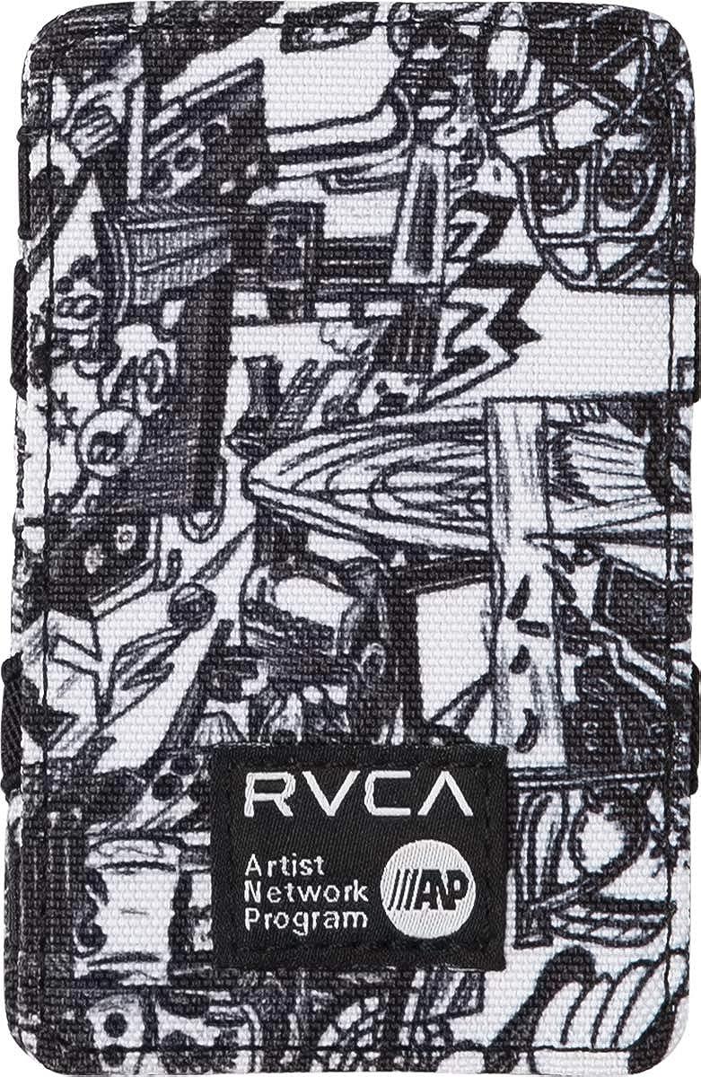 RVCA Men's ANP Magic Wallet, Black One Size MAHTSRMA