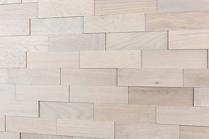 Wodewa Paneles De Madera Para Pared Roble Artico I 1m2 Revestimiento - Pared-de-madera