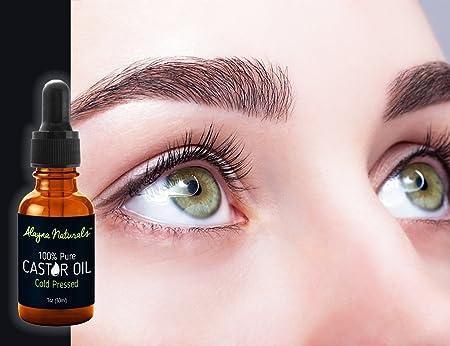 Amazon.com : Aceite De Ricino Para Hacer Crecer Las Pestañas Y Cejas - 100% Puro Y Organico Para Crecimiento De Las Pestañas Y Cejas : Beauty