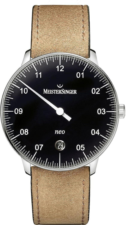 MeisterSinger Neo NE902N Einzeiger Automatikuhr Klassisch schlicht