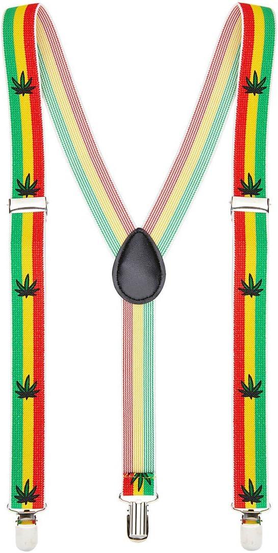 Amakando Elásticos Reggae Tirantes Jamaica Elementos de sujeción ...
