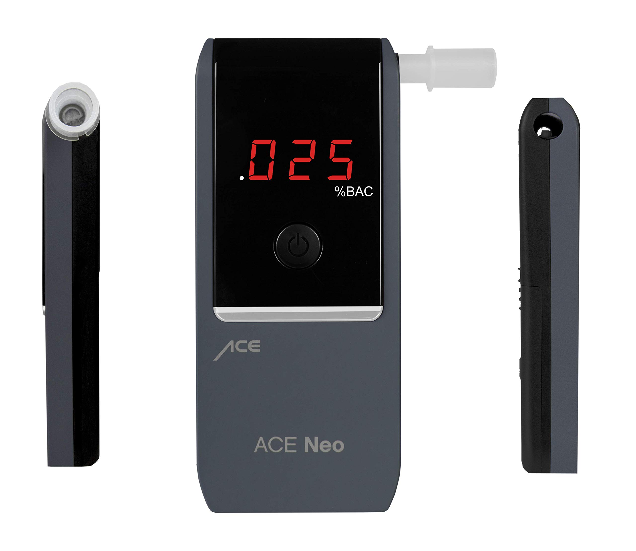 ACE Neo Breathalyzer with Police Grade Accurate Portable Fuel Cell Sensor and .005% Accuracy, Blue by ACE Instruments (Image #4)