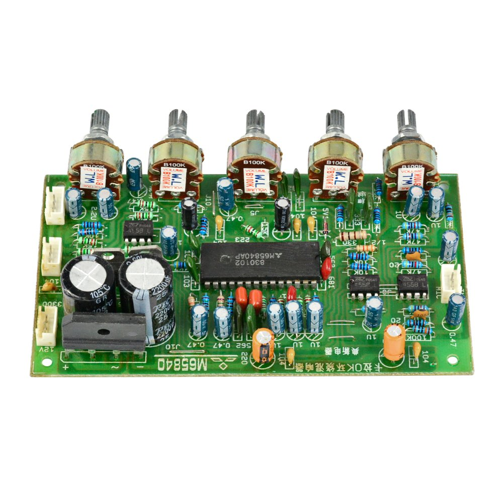 Lm1036 Stereo Tone Controller Circuit Electronic Circuits