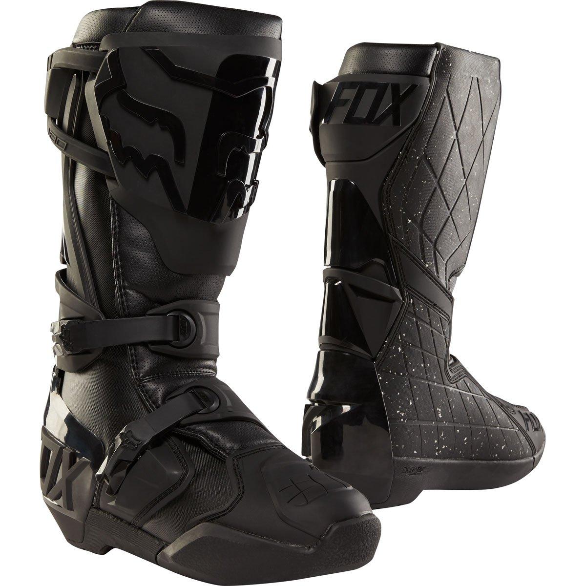 Fox Racing 180 Men's Off-Road Motorcycle Boots - Black/Black / 9