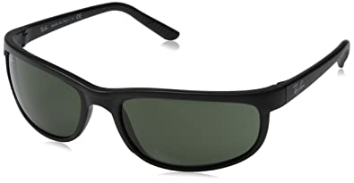 7dc5381e4b Image Unavailable. Image not available for. Color: Ray-Ban RB2027 Predator 2  Icons Sports Sunglasses - Black/Matte ...