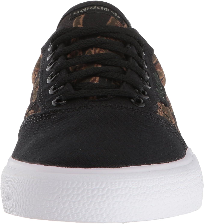 adidas Originals 3mc, Tennis Mixte Adulte Black Brown Night Cargo