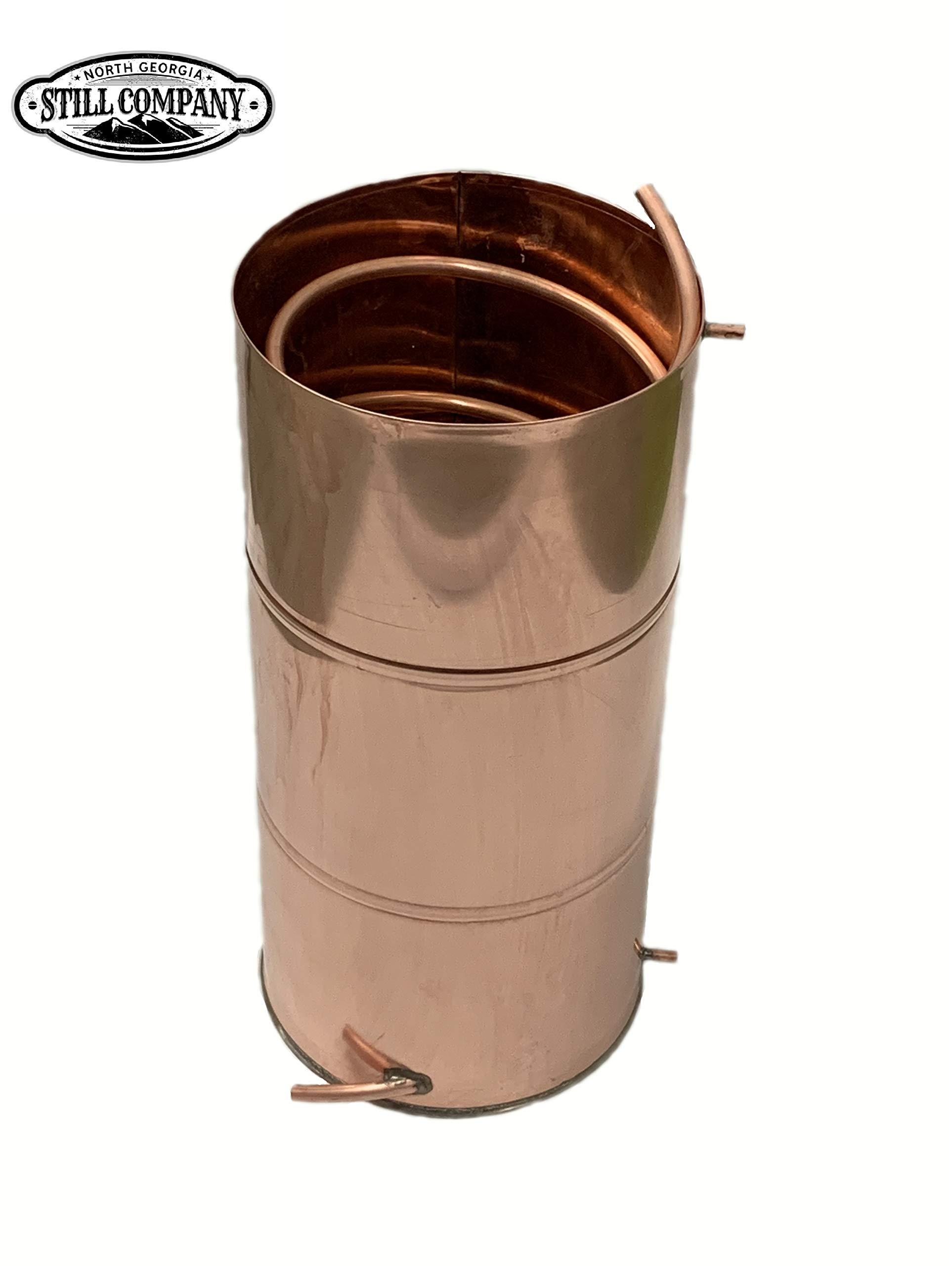 Moonshine Whiskey Still 10 Gallon Worm Condenser, 1/2 OD Coil by North Georgia Still Company by North Georgia Still Company (Image #5)