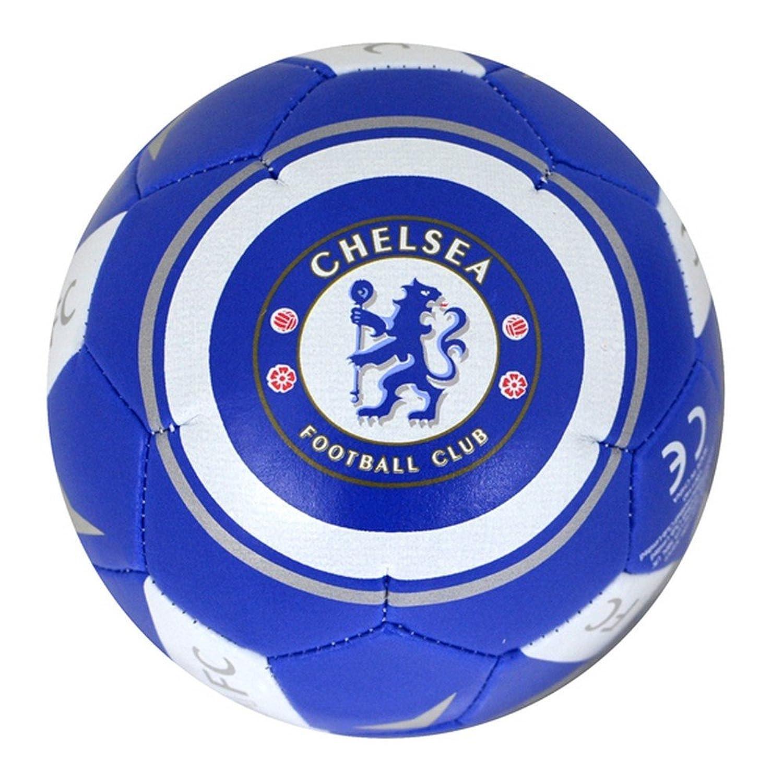 チェルシーFC Official Football Crest Miniソフトボール B011XUWRVAブルー/ホワイト One Size