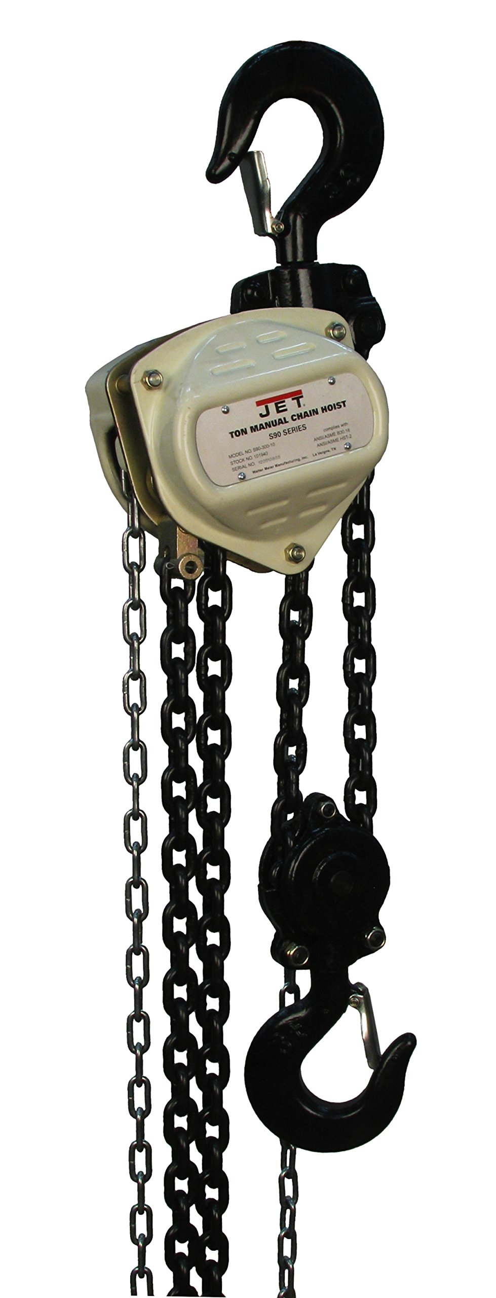 Jet S90-500-20 S90 Series Hand Chain Hoists