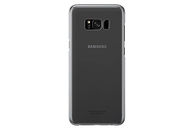 pretty nice c42bc d2c4b Samsung Galaxy S8+ Clear Protective Cover, Black