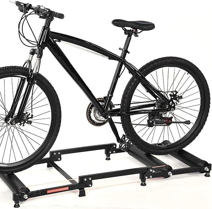 GOTOTOP - Rodillo plegable para bicicleta: Amazon.es: Deportes y aire libre